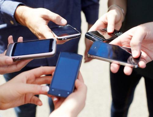 Você pode estar segurando seu celular do jeito errado